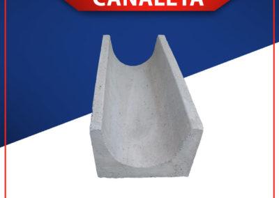 Canaletas de concreto